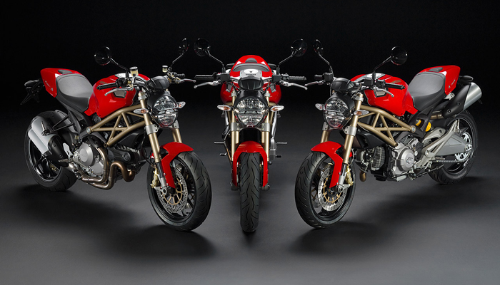 Ducati-Monster TRES GRANDES MOTOS NAKED TRES GRANDES MOTOS NAKED Ducati Monster