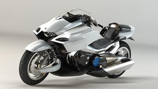Motocicletas Futuristas Pasi 243 N Biker