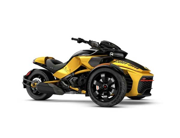 Can Am Spyder Can Am Spyder F3 El triciclo más poderoso: Can Am Spyder F3 S 2017 Can Am Spyder F3 1