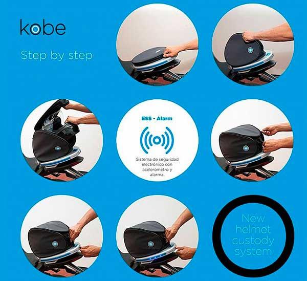 El guarda cascos antirrobo de Kobe El guarda cascos antirrobo de Kobe El guarda cascos antirrobo de Kobe El guarda cascos antirrobo de Kobe 3
