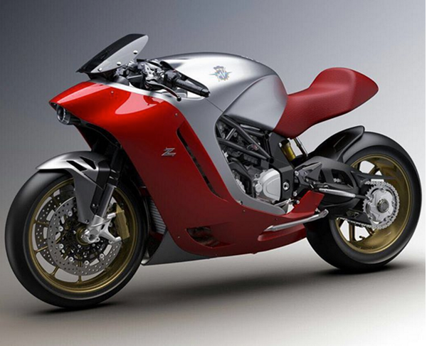 Exclusiva motocicleta MV Agusta FZ4 Zagato