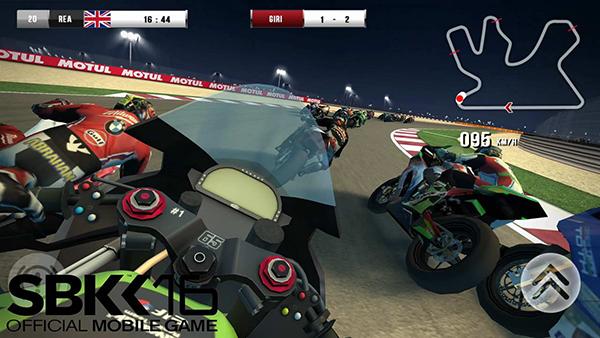 La última versión del juego SBK16