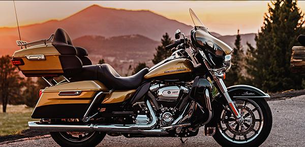 Los modelos Touring de Harley-Davidson 2017