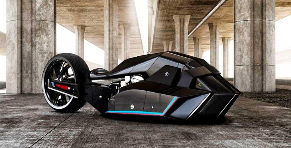 la motocicleta de batman