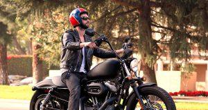 famosos en moto