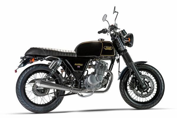 la marca de motocicletas francesa con estilo retro