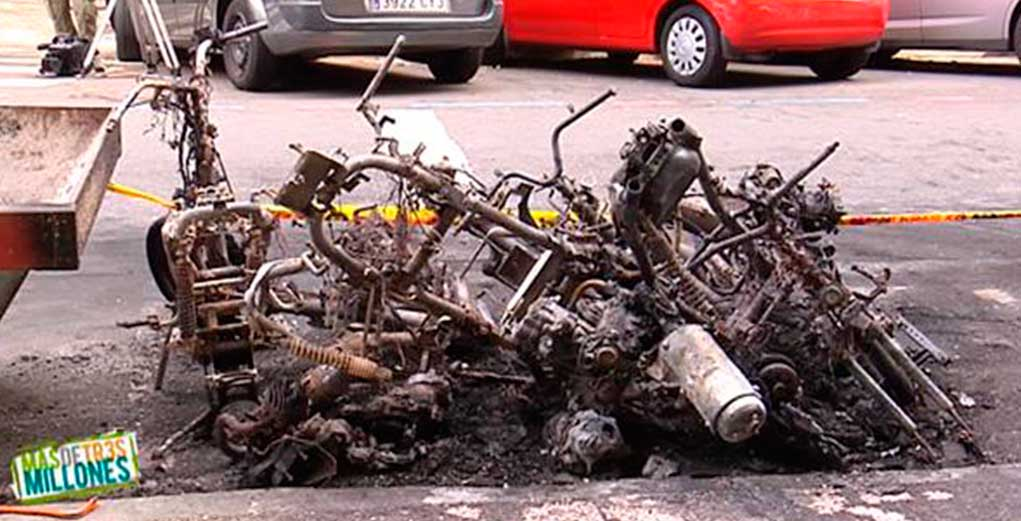 Piromanos de motocicletas