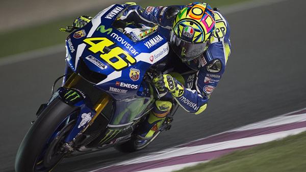 Valentino Rossi a sus veinte años en el motociclismo