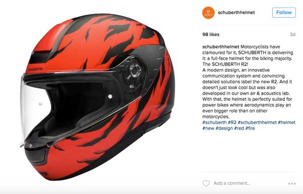 Casco Schuberth R2