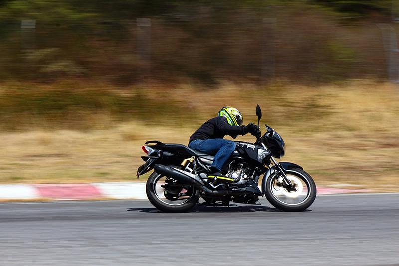 frenar una moto