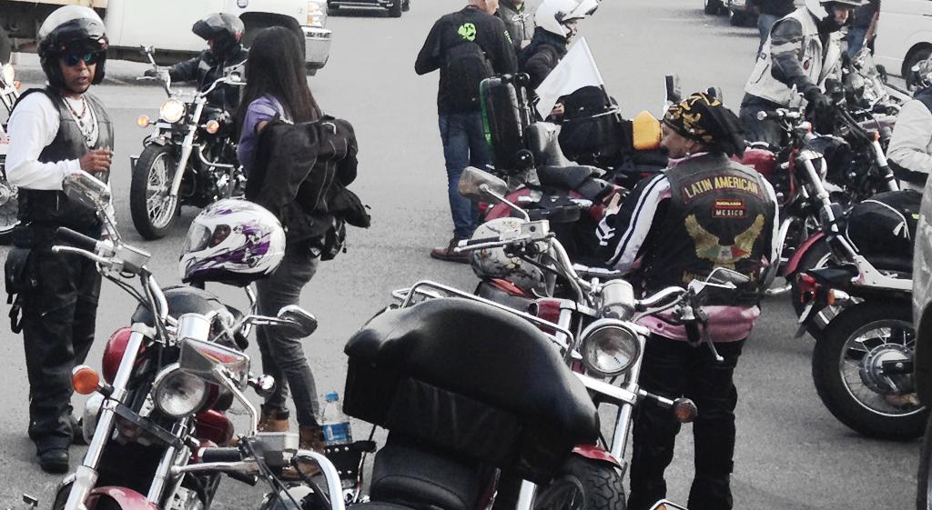 viajando en moto