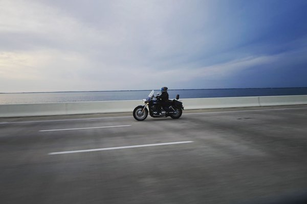 Errores al conducir moto