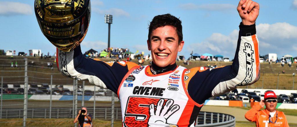 Marc Márquez, 6 veces campeón de la categoría de Moto GP