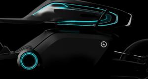 Motociclistas futuristas