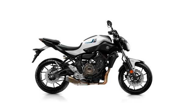 Yamaha MT-07 2017