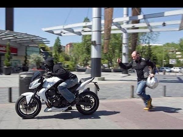 Motos más robadas en México