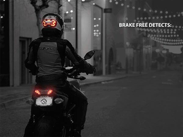 Freno de la moto