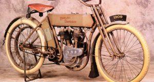 Quién inventó la motocicleta