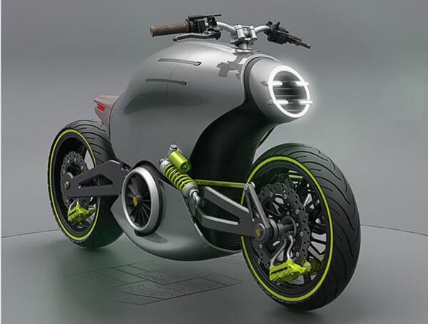 Moto de Porsche