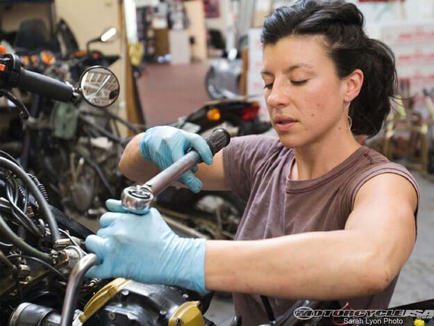 Mamás motociclistas