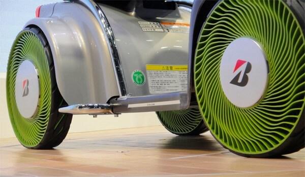 Neumáticos sin aire de Bridgestone