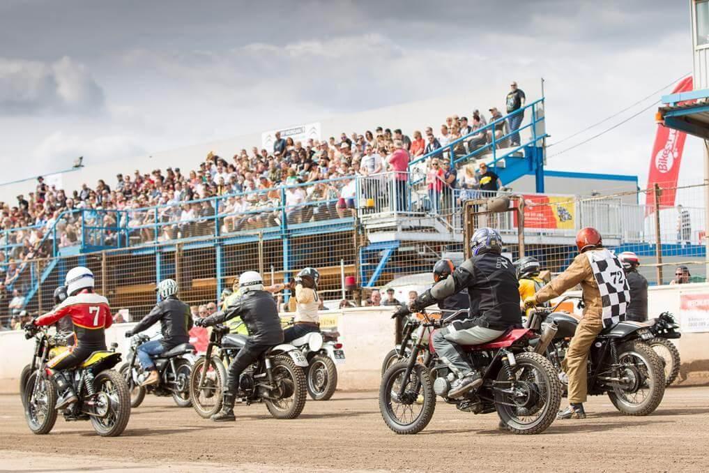 Harley Davidson en Dirt Quake