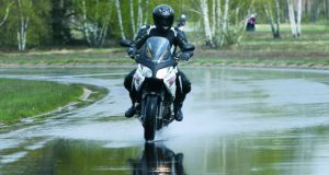 la seguridad del motociclista