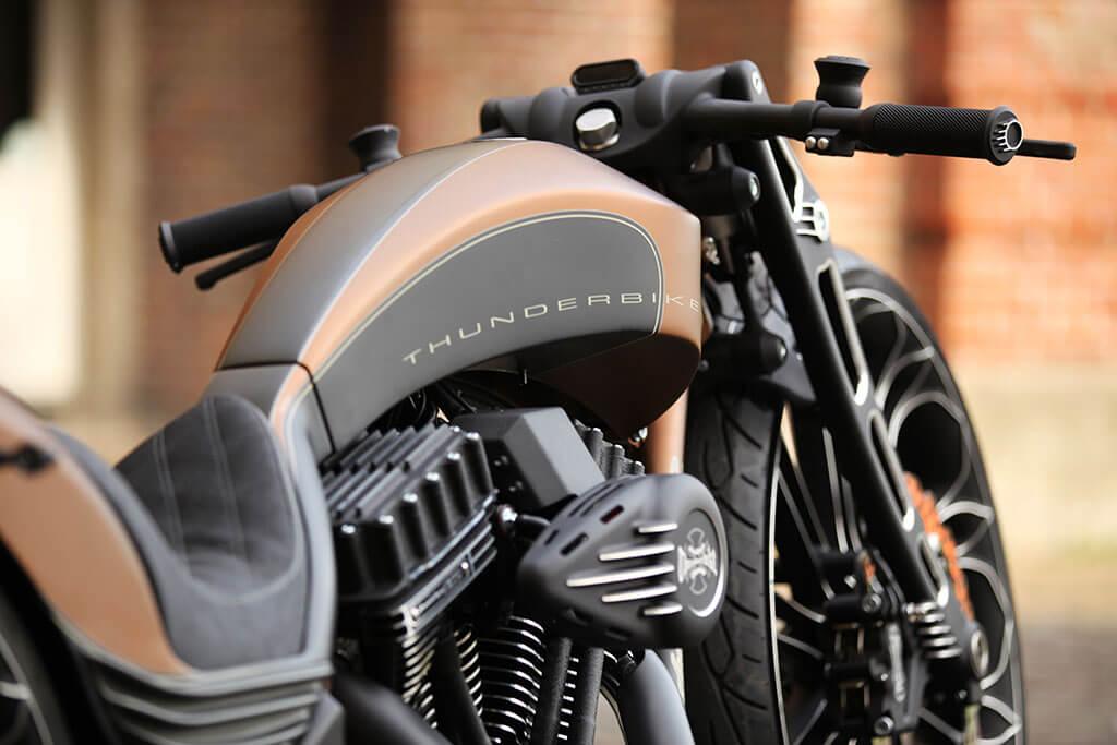 Una moto a la altura del taller creador: Proyecto R por Thunderbike ...